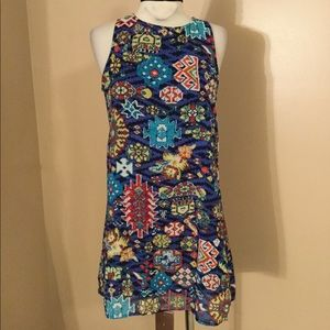 Cute colorful Xhilaration tribal print dress. SM